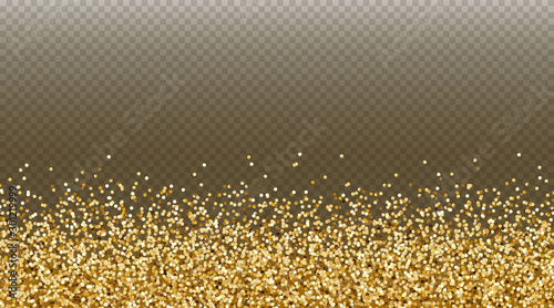 Fotografie, Obraz Gold glitter effect for invite, luxury rich card design