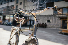 Vintage Bicycle In The City, C...