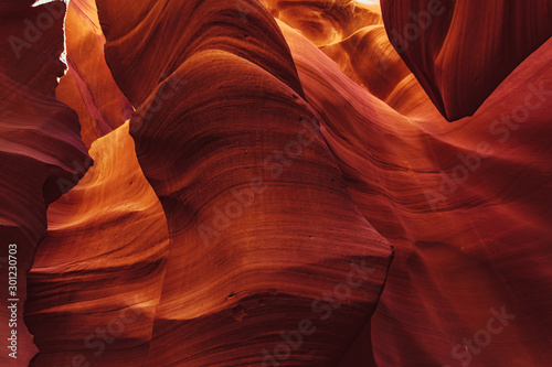 View into lower antelope canyon arizona