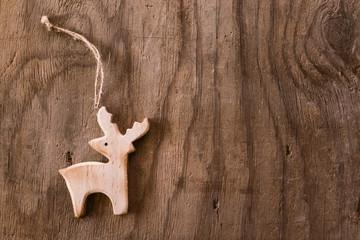 Wooden deer background