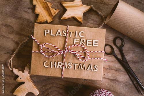 Fototapeta  Plastic free Christmas
