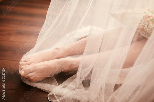 Photographie  Bride morning preparation