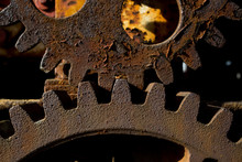 Two Rusty Old Gears