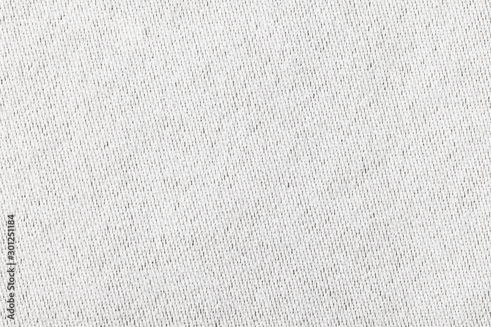 Fototapety, obrazy: White canvas texture. Bright fabric material background.
