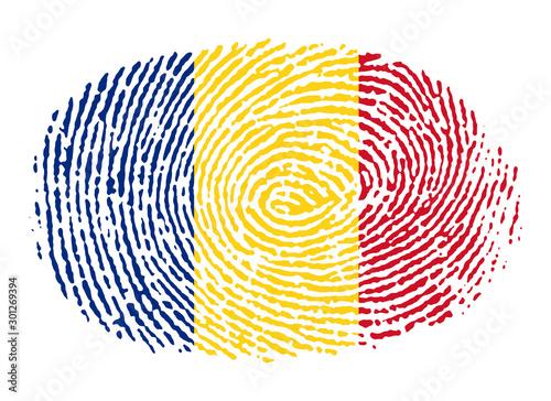 Cuadros en Lienzo  Impronta rumena