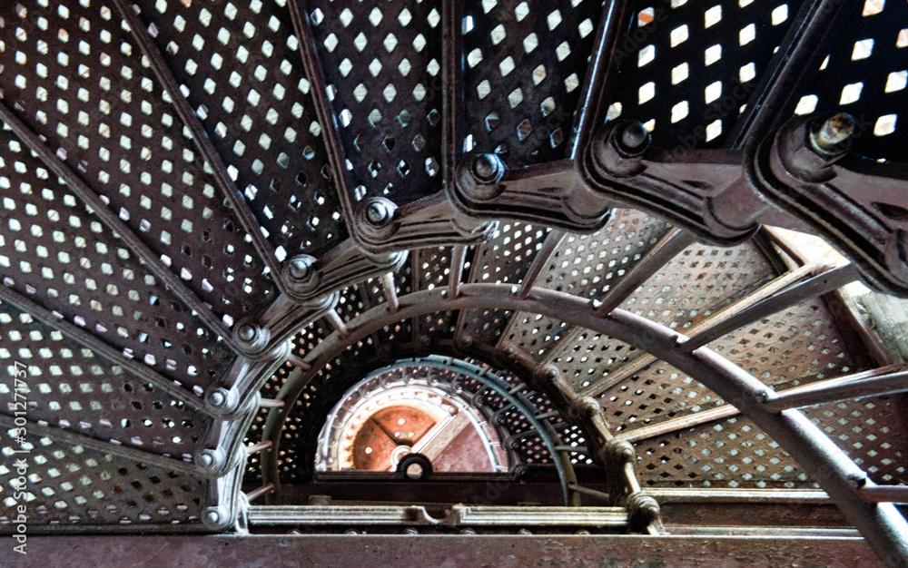 Fototapety, obrazy: Lighthouse Stairway