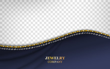 Jewelry Banner Realistic Vecto...