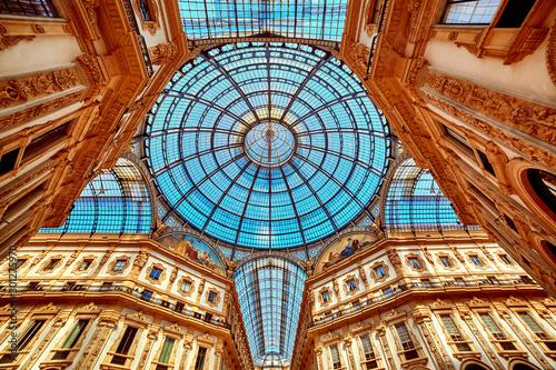 Poster Milan Galleria Vittorio Emanuele II
