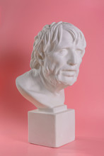 The Famous Roman Tragedy Writer Seneca, 4 Years BC - 65 BC, Is Commonly Known As The Pirate's Plaster Sculpture.
