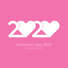 Valentine's Day 2020 Heart Pap...
