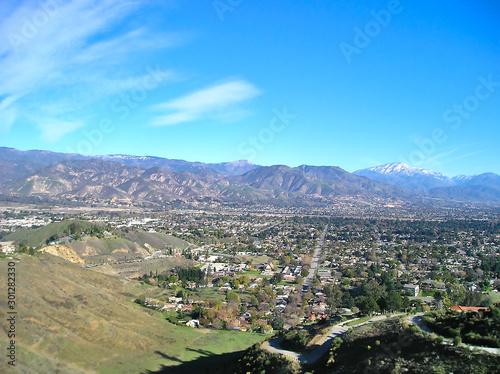 Obraz na plátně Cielo californiano