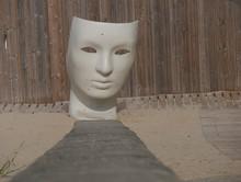 Fauteuil En Résine Masque