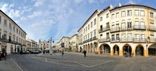 On The Street In The Evora City - Portugal