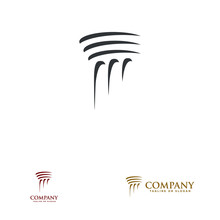Pillar Logo Design For Law Fir...