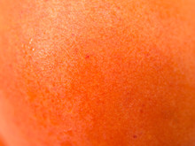 Apricot Fruit Skin Close Up View