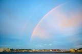 Fototapeta Rainbow - 二重虹