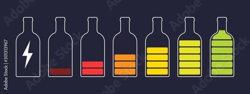 Valokuva Bottle silhouette