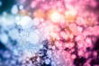 canvas print picture Elegant abstract background with bokeh defocused lights and stars