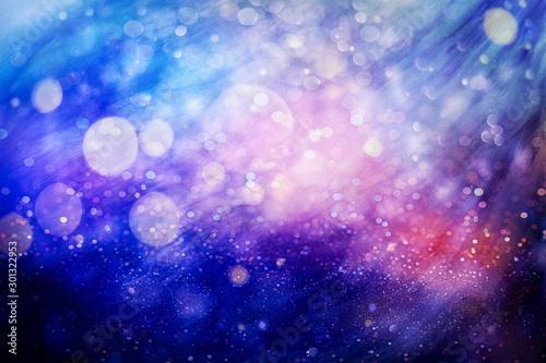 Fototapety, obrazy: Glittering Christmas background. Yellow christmas background Glitter christmas background.
