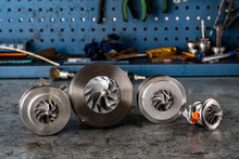 Parts Of Aluminum Turbine Clos...