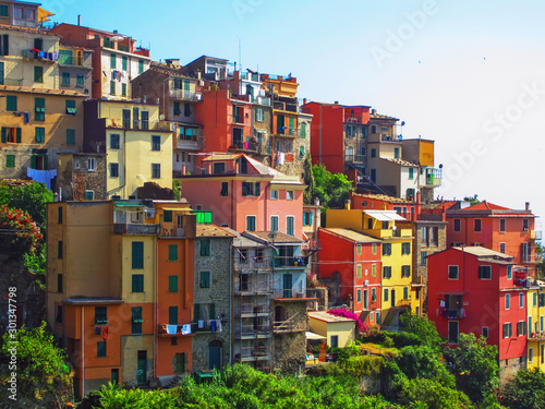 Staande foto Liguria Village Corniglia on Italian Coast