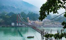 Beautiful View Of Rishikesh In...