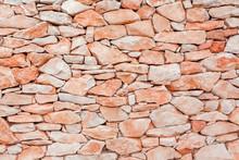 Wall Of Old Bricks