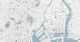 Detailed map of Tokyo, Japan