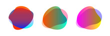 Colorful Blob Shape Free From ...
