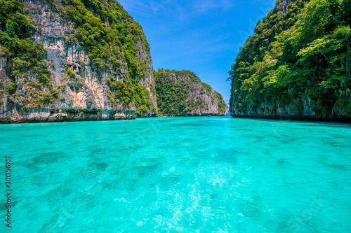 Autocollant pour porte Vert corail krabi thailand