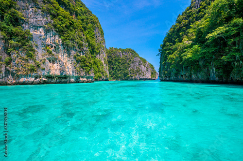 Papiers peints Vert corail krabi thailand