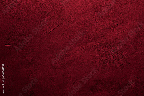 Abstract textured background in red Canvas Print