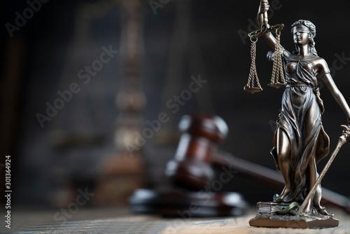 Fotografía  Justice concept