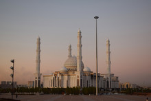 A Beautiful Mosque In Centra A...