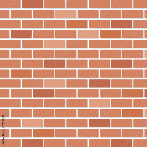 brick wall house isolated icon vector illustration design - 301369185