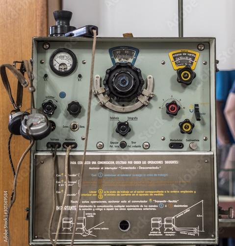 aparato de radio Canvas Print