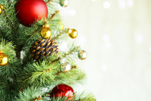 Decorated Christmas Tree With ...