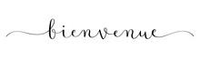 Calligraphie Vecteur Noir BIEN...