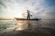 Picture Of Asian Fishermen On ...