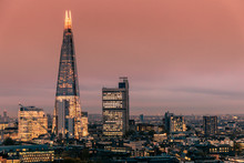 Modern London City Skyline Wit...