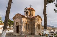 Orthodox Chapel In A Cemetery