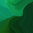 square graphic illustration with very dark green, sea green and teal green colors. abstract design swirl waves. can be used as wallpaper, background graphic or texture