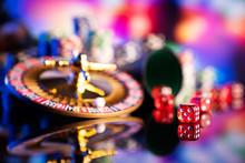 Casino Theme.  Gambling Games....