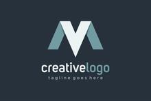 Initial Letter V And M Logo Ri...