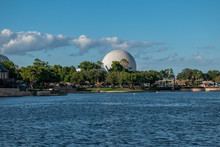 Partial View Of Epcot Sphere 1