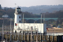 Scarborough Lighthouse - From South Wall.