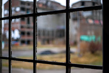 Fenster In Industriebrache
