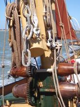 Thames Barge Mast Rig
