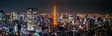 Night view of TOKYO JAPAN