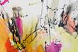 canvas print picture - Abstrakte, handgemalte Gemälde